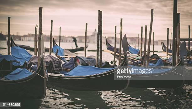 Venice,Italy - Gondole & Gondoliere