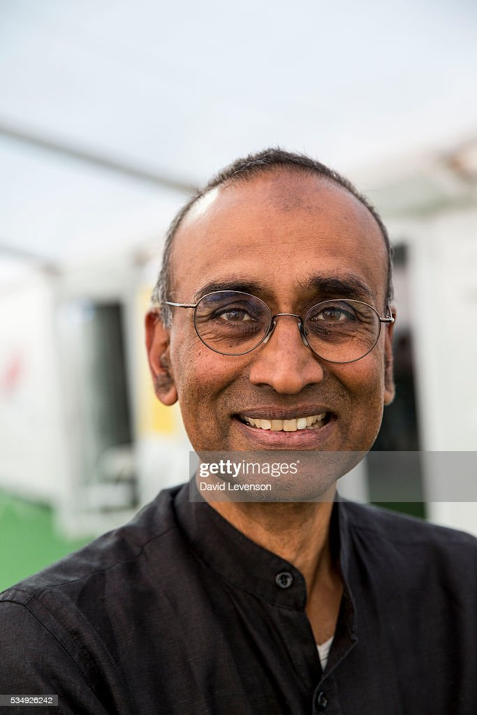 Venki Ramakrishnan, the 2009 Nobel Prize in Chemistry winner, and president of the Royal Society at the Hay Festival, on May 28, 2016 in Hay-on-Wye, Wales.