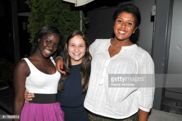 Vennesa Asare Julia Grey and Arianna Thomas attend ASSOCIATION to BENEFIT CHILDREN Junior Committee Fundraiser at Gansevoort Hotel on September 14...