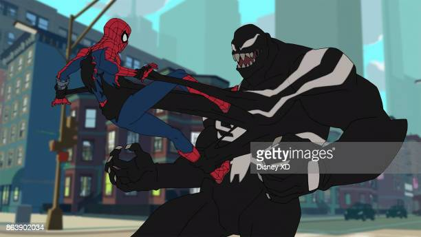 S SPIDERMAN 'Venom' The symbiote has escaped the Avengers Compound and attached itself to a new host Now Spidey must find out how to beat it and who...