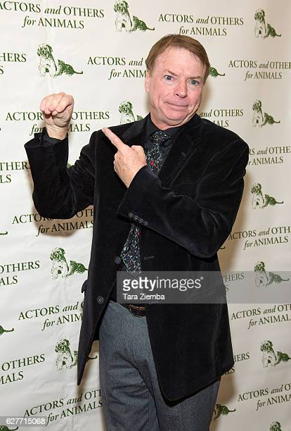 Ventriloquist Jay Johnson attends the 'Joy To The Animals' luncheon and fundraiser at Universal City Hilton Towers on December 4 2016 in Universal...