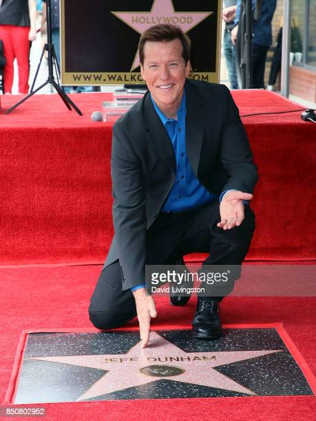 Ventriloquist Jeff Dunham attends his being honored with a Star on the Hollywood Walk of Fame on September 21 2017 in Hollywood California
