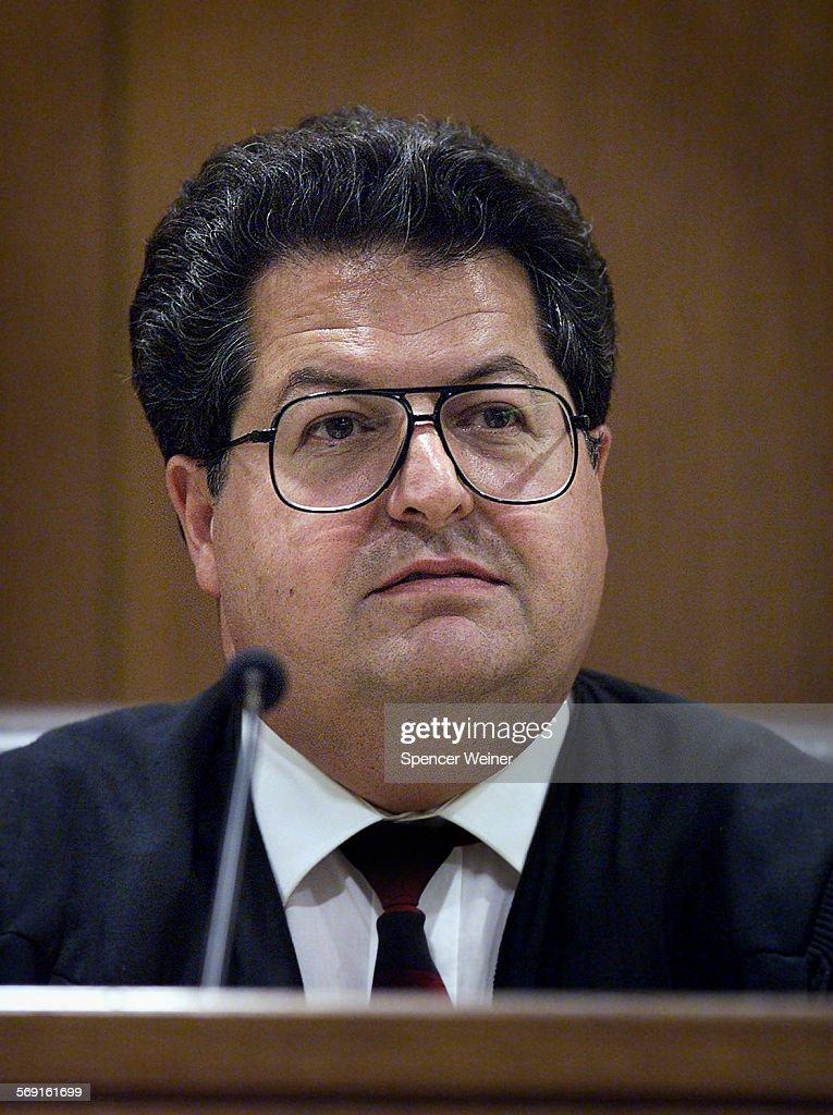 Ventura County Superior Court Judge <b>Arturo Gutierrez</b>, during bail hearing to ... - ventura-county-superior-court-judge-arturo-gutierrez-during-bail-to-picture-id569161699