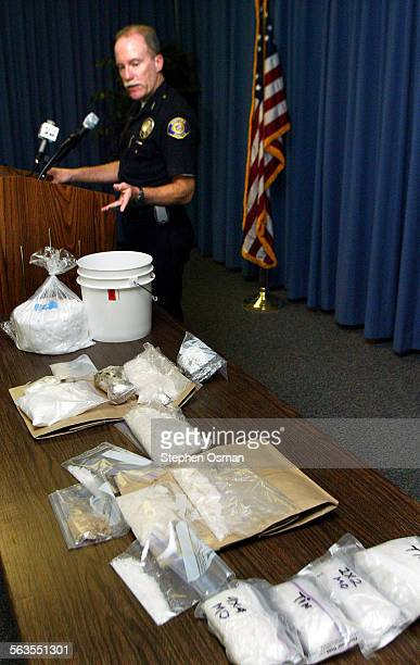 Ventura Police Assistant Chief Pat Miller talks about a multi–agency task force that busted a crystal meth operation netting 65 pounds of the more...
