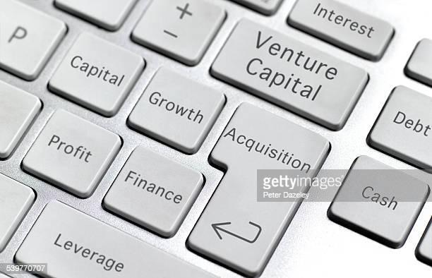 Venture capital keyboard