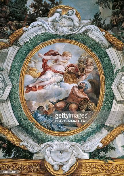 Venus and Vulcan detail from the Stories of Aeneas by Pietro da Cortona fresco 332x72 m Palazzo Pamphili Gallery Rome