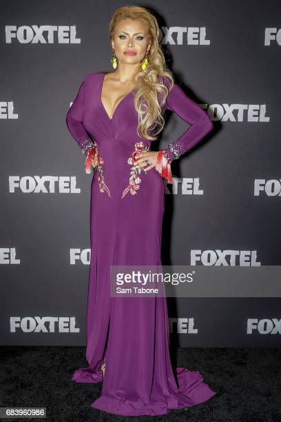Venus Behbahani during the Real Housewives Of Melbourne Season 4 Media Call at Grand Hyatt Melbourne on May 17 2017 in Melbourne Australia