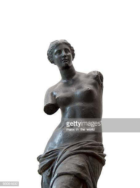 Venus de Milo in black