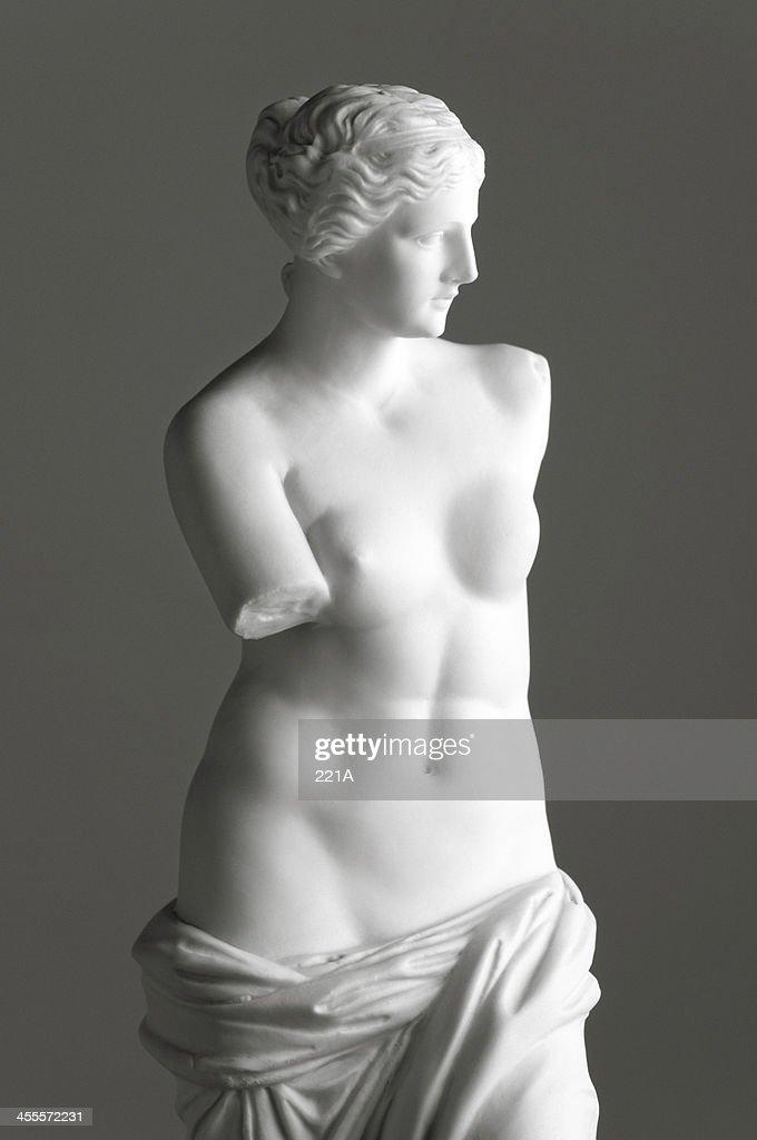 Venere di Milo in grigio : Foto stock