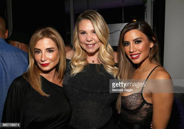 Venus Nicolino Kailyn Lowry and Asifa Mirza attend the exclusive premiere party for Marriage Boot Camp Reality Stars Season 9 hosted by WE tv on...