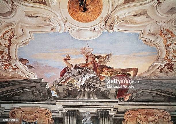 Venus Rounded by Cupids and the Genius by Giambattista Tiepolo 1747 1750 18th Century fresco