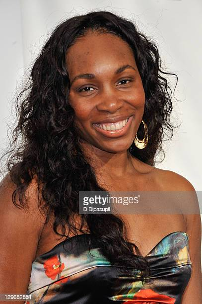 Venus Williams attends the 32nd Annual Salute To Women In Sports Gala at Cipriani Wall Street on October 19 2011 in New York City