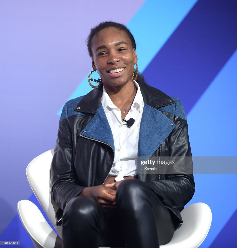 Venus Williams attends the 'Winning & Building Your Own Brand' panel discussion at PlayStation Theater on September 28, 2017 in New York City.