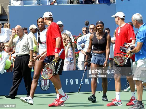 Venus Williams Bob Bryan Serena Williams and Mike Bryan