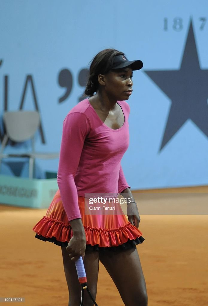 Venus Williams, USA, tennis in 'Mutua Madrilena Madrid Open' , 8th May 2010, in 'La Caja Magica'. Madrid, Spain.