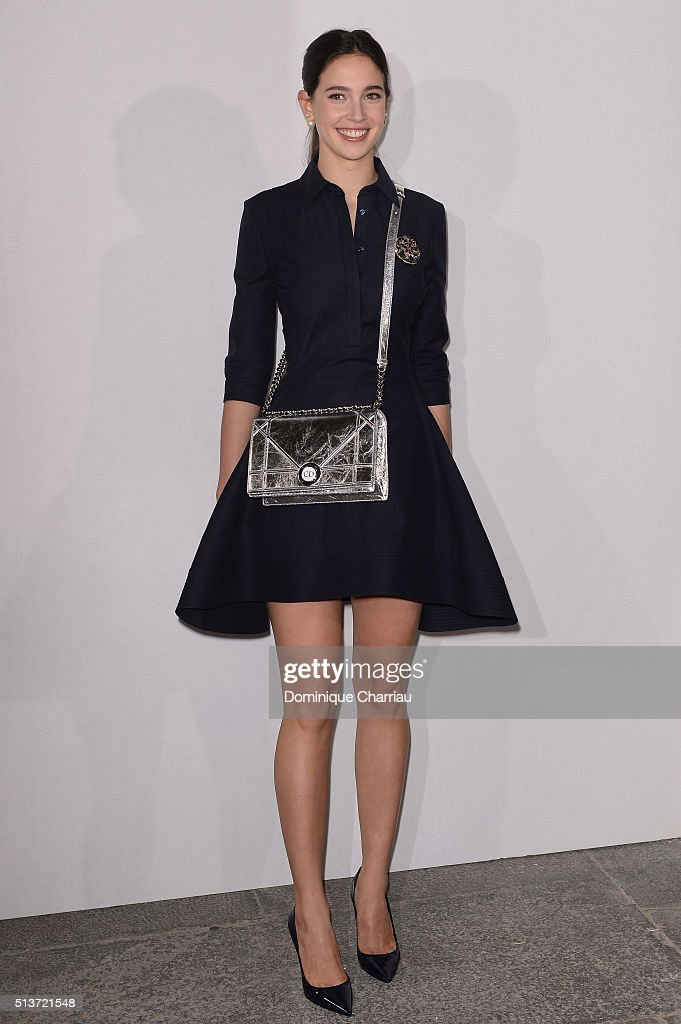 Vera Arrivabene attends the Christian Dior show as part of the Paris Fashion Week Womenswear Fall/Winter 2016/2017 on March 4, 2016 in Paris, France.