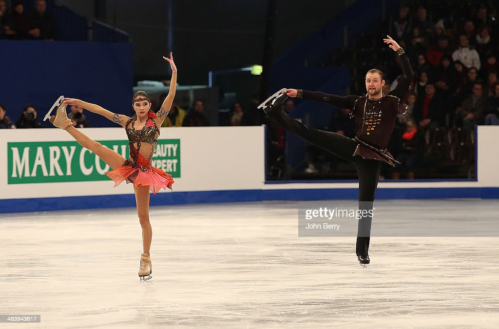 ISU European Figure Skating Championships 2014 : Day 5