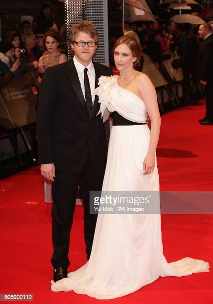 Vera Farmiga and guest arriving for the Orange British Academy Film Awards at The Royal Opera House London