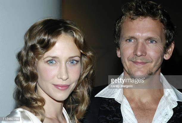 Vera Farmiga and her husband Sebastian Roche during 'dummy' New York Premiere Inside Arrivals at Loews Theater Lincoln Square in New York City New...