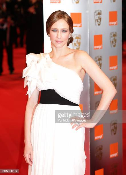 Vera Farmiga arriving for the Orange British Academy Film Awards at The Royal Opera House London