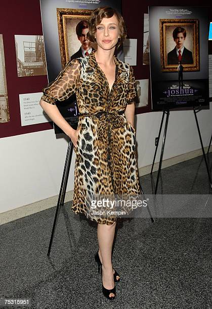 Vera Farmiga attends a screening of the film 'Joshua' at the Lighthouse Theater on June 3 2007 in New York City