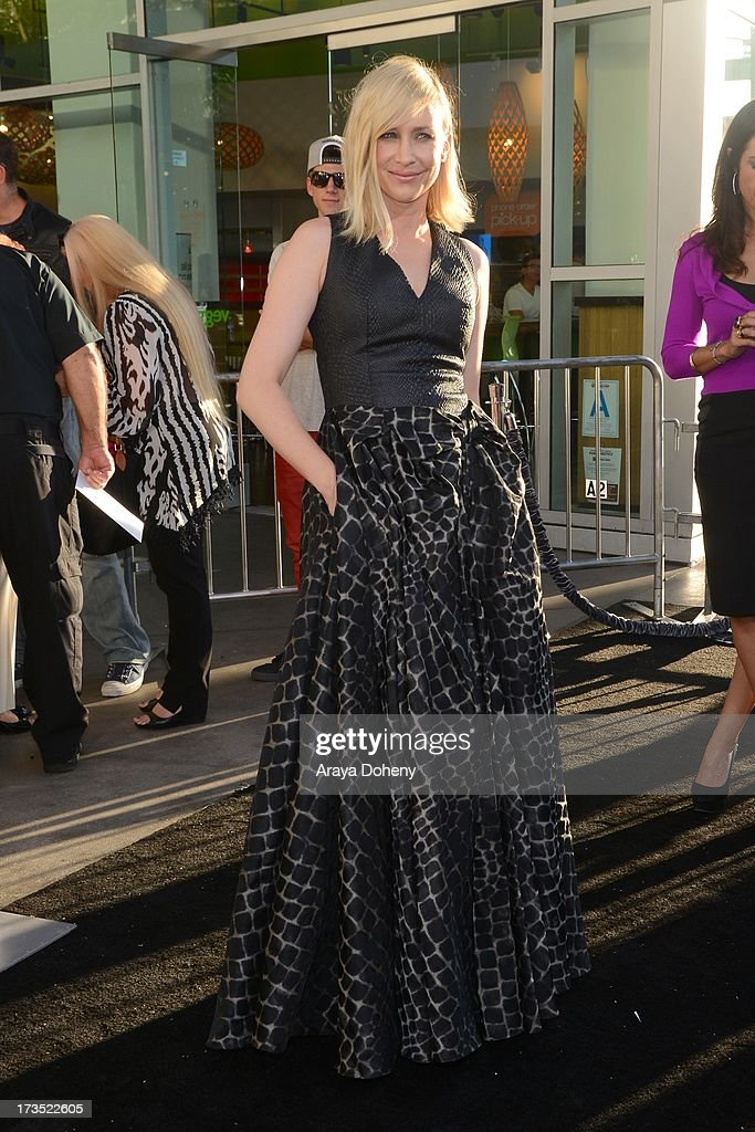 <a gi-track='captionPersonalityLinkClicked' href=/galleries/search?phrase=Vera+Farmiga&family=editorial&specificpeople=227012 ng-click='$event.stopPropagation()'>Vera Farmiga</a> attends the premiere of Warner Bros. 'The Conjuring' at ArcLight Cinemas Cinerama Dome on July 15, 2013 in Hollywood, California.