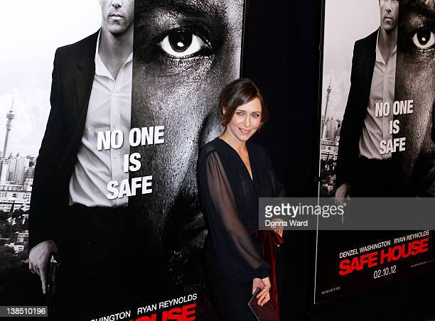 Vera Farmiga attends the 'Safe House' premiere at the SVA Theater on February 7 2012 in New York City