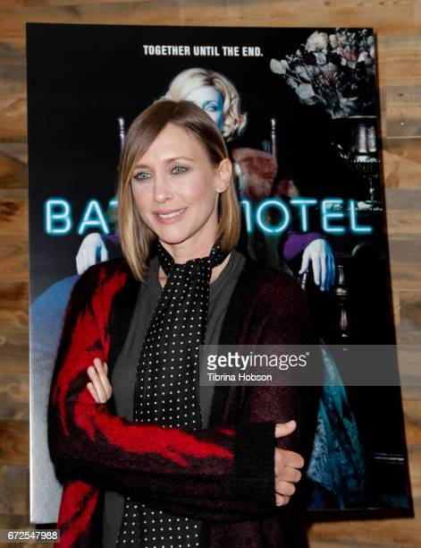 Vera Farmiga attends the Television Academy Event for AE's 'Bates Motel' at Universal Studios Hollywood on April 24 2017 in Universal City California