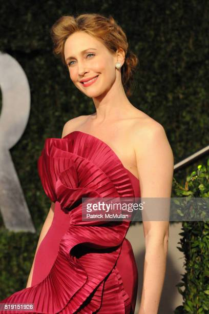 Vera Farmiga attends VANITY FAIR Oscar Party ARRIVALS at Sunset Tower Hotel on March 7 2010 in West Hollywood California