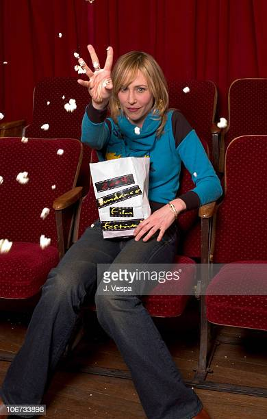 Vera Farmiga during 2004 Sundance Film Festival 'Down To The Bone' Portraits at HP Portrait Studio in Park City Utah United States