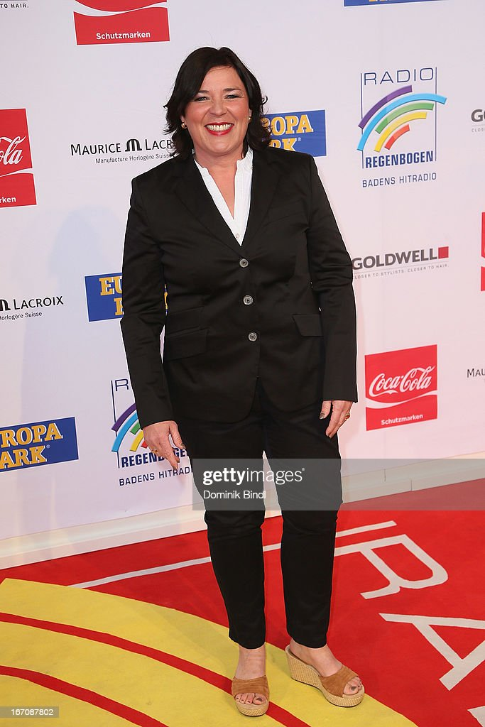 Vera Int-Veen attends the Radio Regenbogen Award 2013 at Europapark on April 19, 2013 in Rust, Germany.