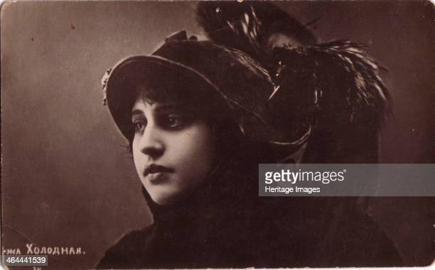 Vera Kholodnaya Russian silent film actress 1910s It is thought that Vera Kholodnaya may have appereared in between 50 and 100 films although only 5...