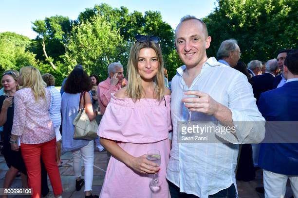 Vera Shaban and Paul Watt attend Maison Gerard Presents Marino di Teana A Lifetime of Passion and Expression at Michael Bruno and Alexander Jakowec's...
