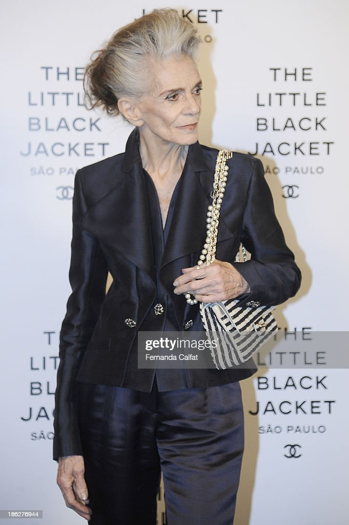 Vera Valdez attends the Chanel Little Black Jacket event on October 29, 2013 in Sao Paulo, Brazil.