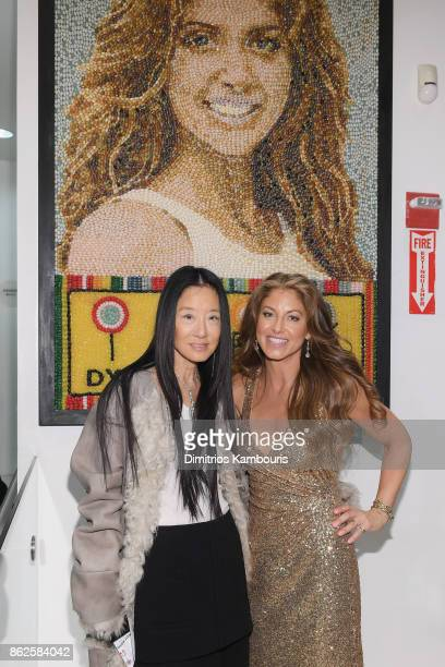 Vera Wang and Dylan Lauren celebrate the Sweet 16 of Dylan's Candy Bar on October 17 2017 in New York City