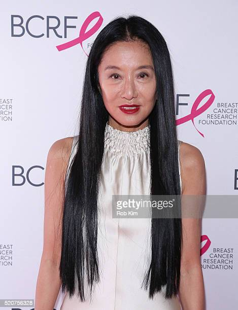 Vera Wang attends 2016 Breast Cancer Research Foundation Hot Pink Party at The Waldorf=Astoria on April 12 2016 in New York City
