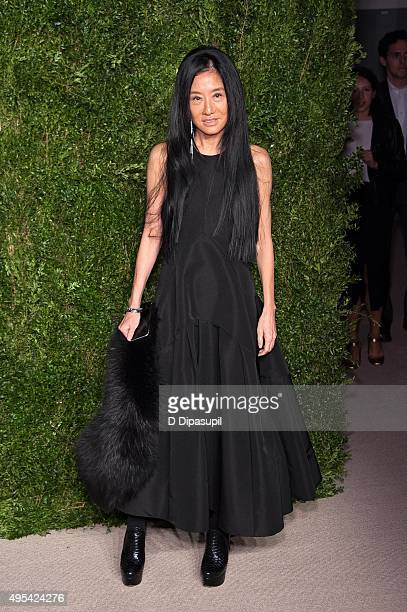 Vera Wang attends the 12th annual CFDA/Vogue Fashion Fund Awards at Spring Studios on November 2 2015 in New York City