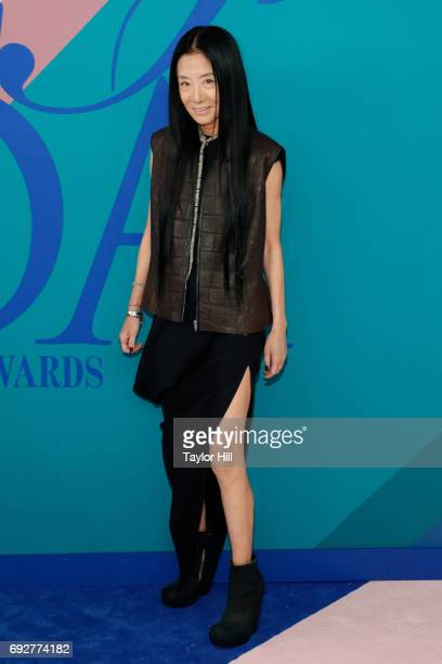 Vera Wang attends the 2017 CFDA Fashion Awards at Hammerstein Ballroom on June 5 2017 in New York City