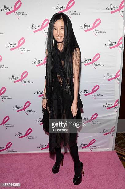 Vera Wang attends The Breast Cancer Research Foundation 2014 Hot Pink Party at The Waldorf=Astoria on April 28 2014 in New York City