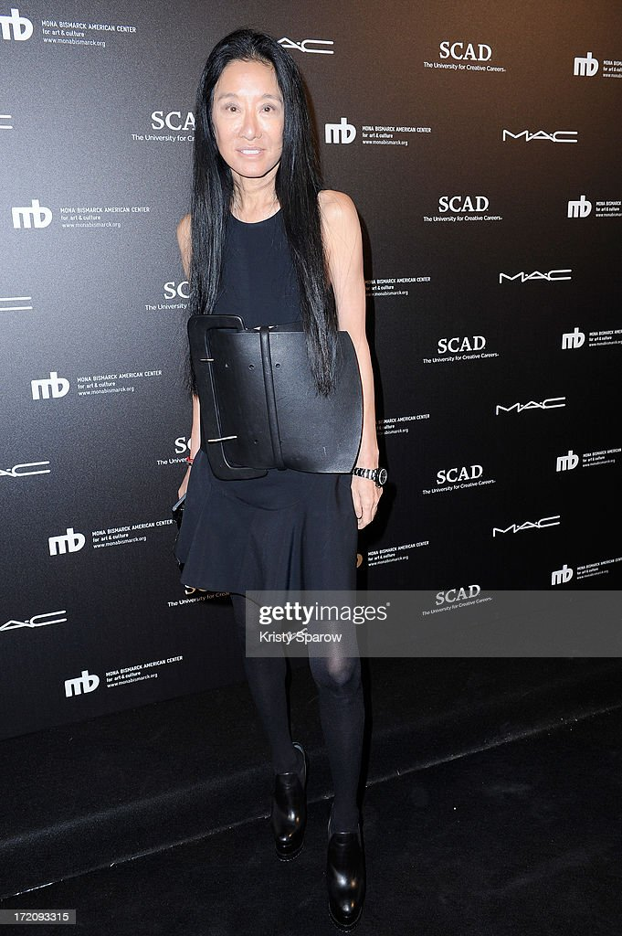 Vera Wang attends the Little Black Dress exhibition as part of Paris Fashion Week Haute-Couture F/W 2013-2014 on July 1, 2013 in Paris, France.