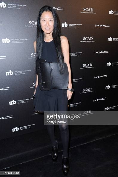 Vera Wang attends the Little Black Dress exhibition as part of Paris Fashion Week HauteCouture F/W 20132014 on July 1 2013 in Paris France