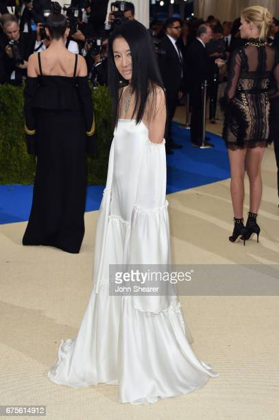 Vera Wang attends the 'Rei Kawakubo/Comme des Garcons Art Of The InBetween' Costume Institute Gala at Metropolitan Museum of Art on May 1 2017 in New...