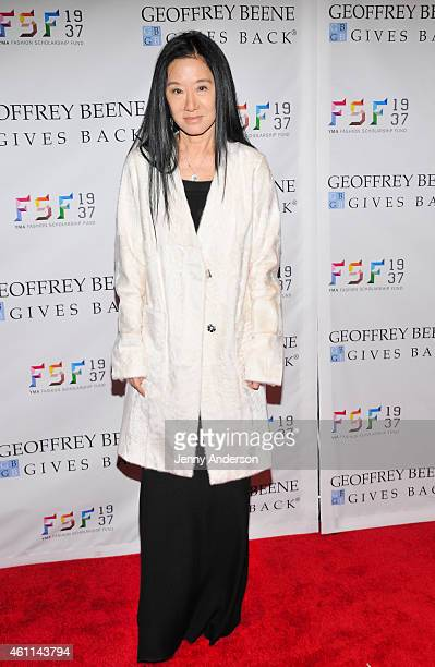 Vera Wang attends the YMA Fashion Scholarship Fund Geoffrey Beene National Scholarship Awards Dinner at The Waldorf Astoria on January 7 2015 in New...