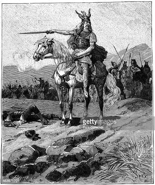Vercingetorix chieftain of the Arverni c52 BC The Gallic chieftain Vercingetorix was chosen as king by the Arverni a powerful tribe that occupied...