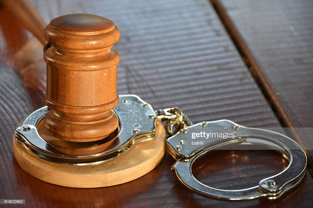 Verdict - guilty : Stock Photo
