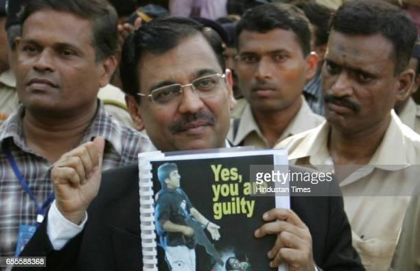 Verdict Special Public Prosecutor Ujjwal Nikam wears a smile after Mohammed Ajmal Amir Kasab the lone surviving LashkareTayyaba terrorist in the...