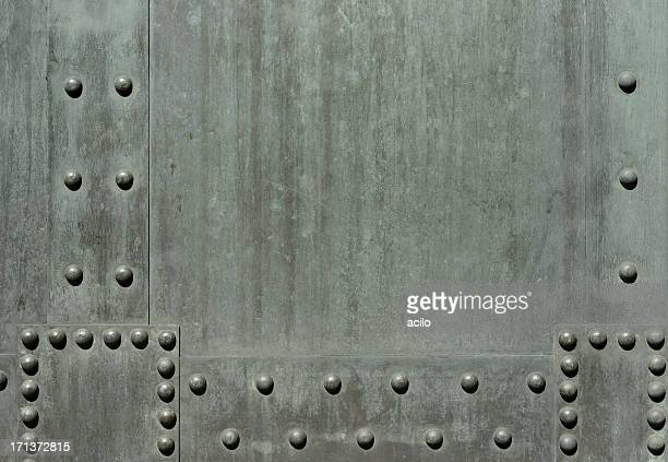 Verdigris background with rivets (3XL)