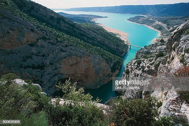 Verdon Gorge and Lake of SainteCroix ProvenceAlpesCote d'Azur France