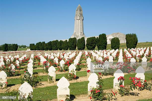 Verdun military muslim cemetery, France
