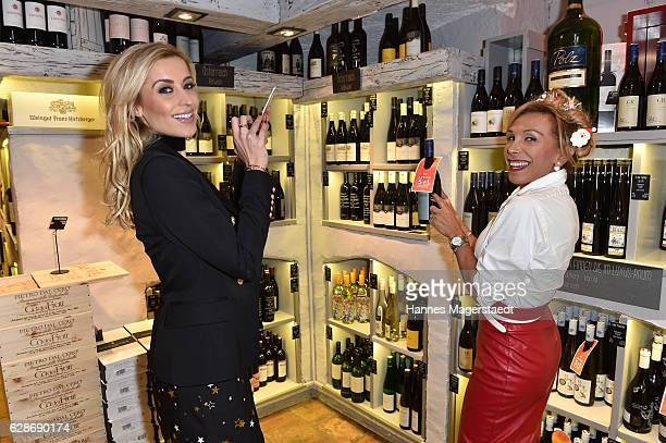 Verena Kerth and Julia Prillwitz during the CONNECTIONS PR XMAS Cocktail at Kaefer Atelier on December 8 2016 in Munich Germany
